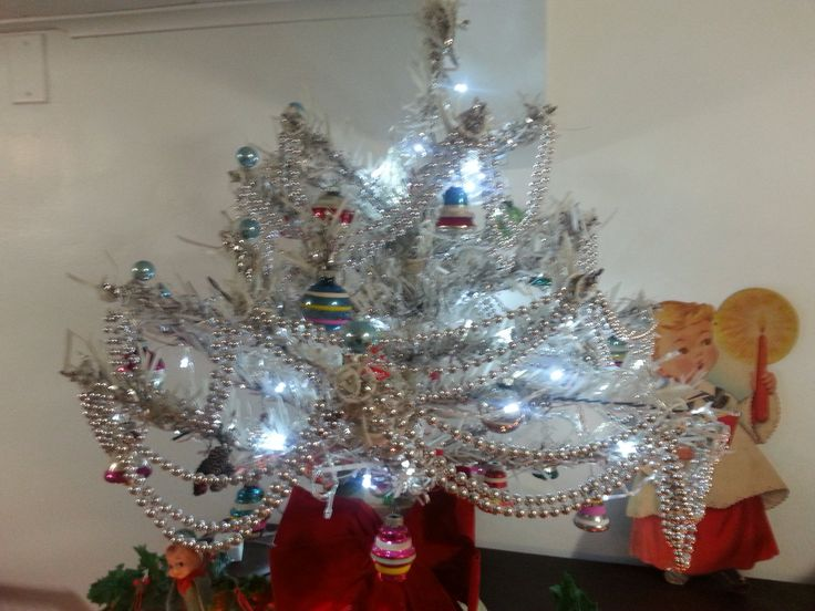 125 Best Images About Aluminum Christmas Trees On