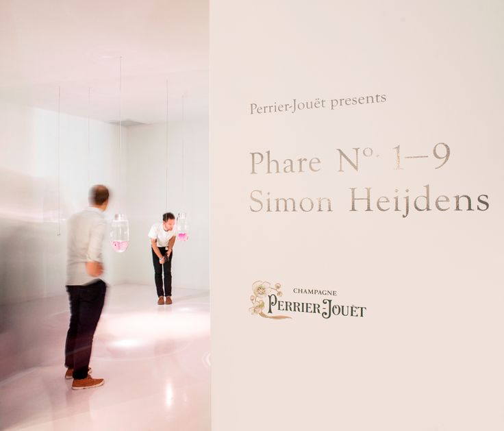 Phare No. 1-9 by Simon Heijdens #simonheijdens #perrierjouet #designmiami Please Drink Responsibly