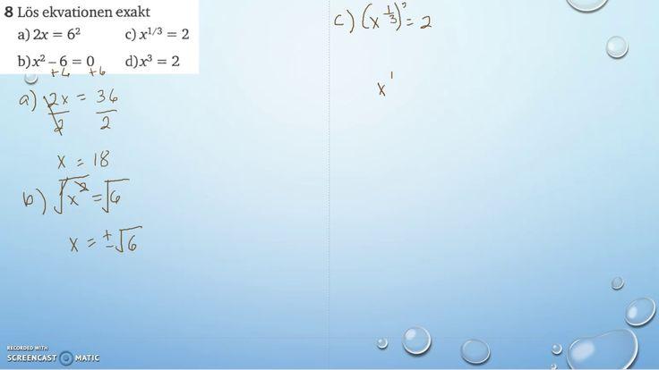 Matematik 5000 Ma 2a   Kapitel 2   Blandade övningar 2   8