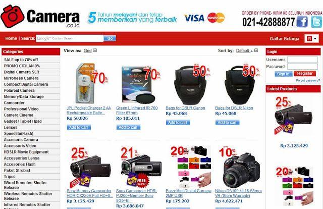 Pemula fotografi cari Toko kamera murah di Indonesia ? klik aja camera.co.id ! sebaiknya anda membeli kamera yang mampu memberikan seluruh array opsi pemotretan http://mahirseogoogle.blogspot.com/2013/12/camera.co.id.html