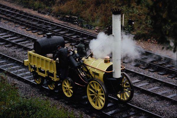 578073 STEPHENSONS ROCKET horsted Keynes A4 FOTO STAMPA | eBay