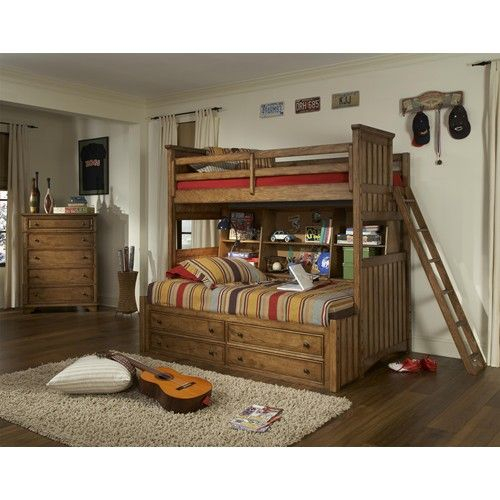Legacy classic kids timber lodge twin bedroom group efo - Ashley wilkes bedroom collection ...