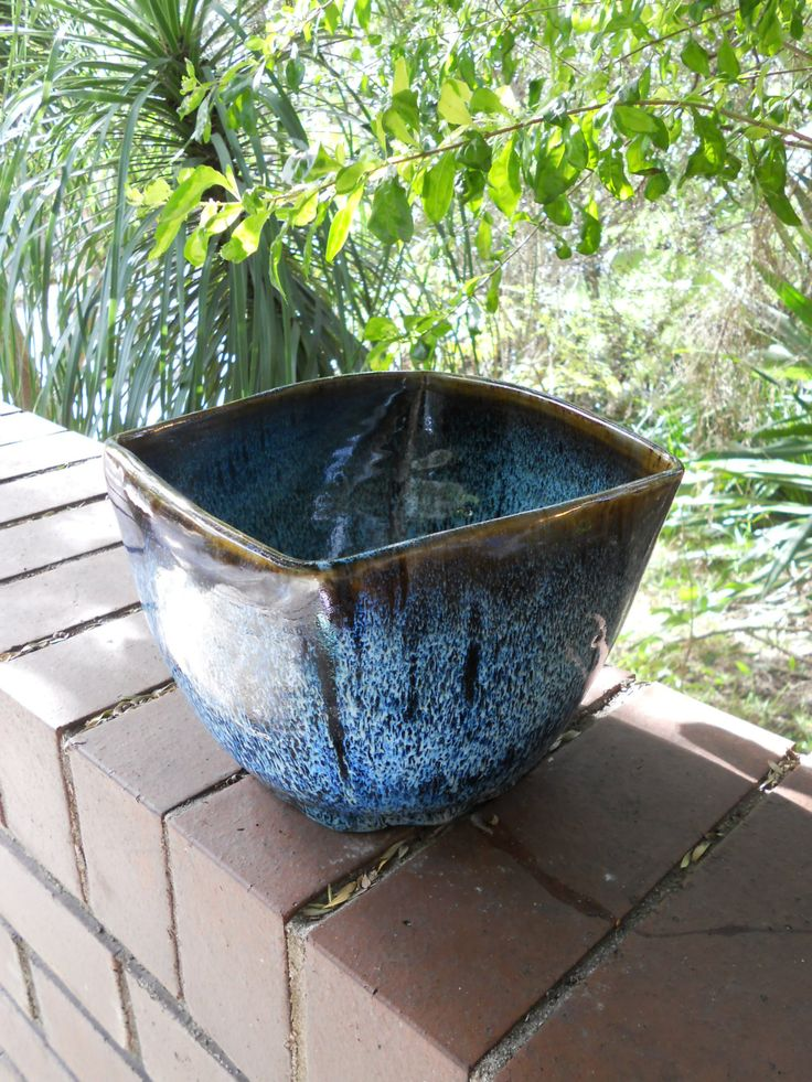 Stoneware Cone 10 planter