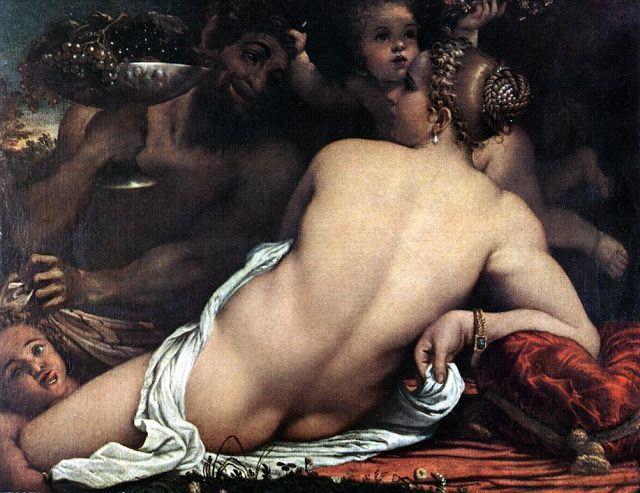 Αφροδίτη Σάτυρος και Ερωτιδείς 1588