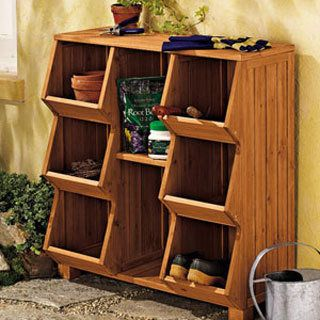 Outdoor Toy Storage: Storage Cubby by Jackson & Perkins