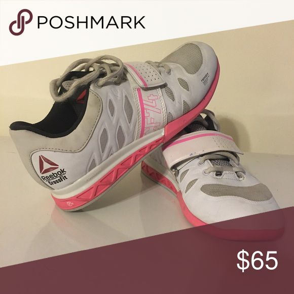 Reebok Crossfit lifting shoes Rebook Crossfit lifting shoes with lots of life remaining. Size 7.5 Reebok Shoes Athletic Shoes