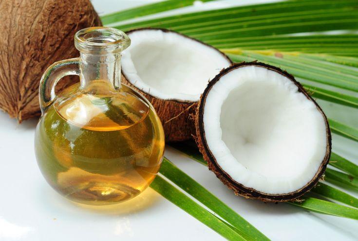 Esfoliante facial com óleo de coco