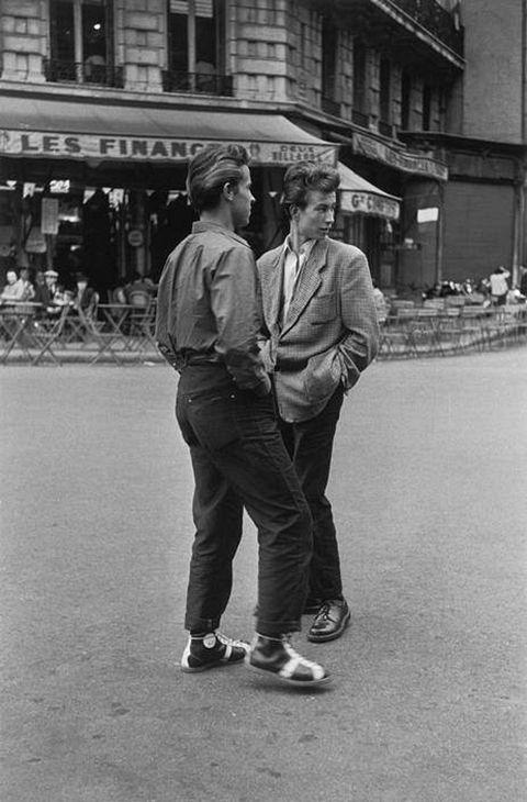 Paris 1952  Photo:David Seymour