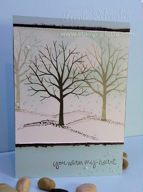 How nice is that sentiment?  I just love it and it can mean so many things! Right now a lot of my friends from USA are going through severe snow storms and when I made this card I had all of them o...