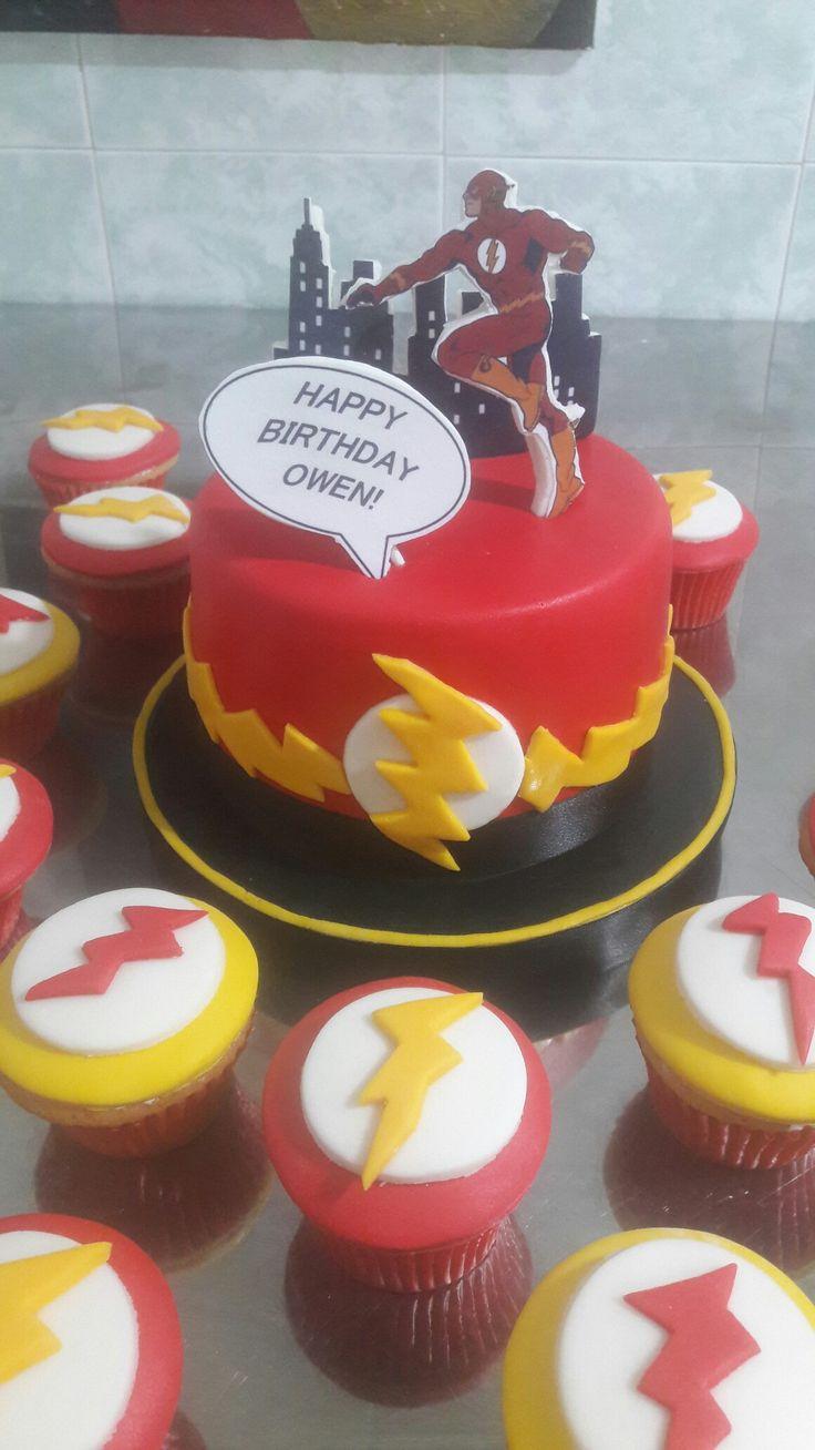 Torta en Fondant Flash!!