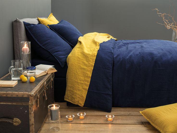 27 best images about linge de lit lin on pinterest. Black Bedroom Furniture Sets. Home Design Ideas