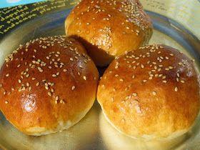 Pan de hamburguesa cocina tradicional