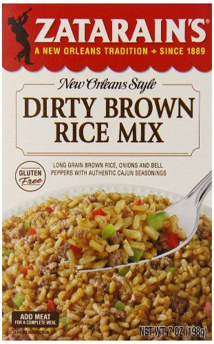 Zatarains Dirty Brown Rice Mix 7 Ounce Pack of 12 >>> Find out more about the great product at the image link.Note:It is affiliate link to Amazon.