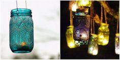 Aprenda a fazer lanternas marroquinas com frascos de vidro