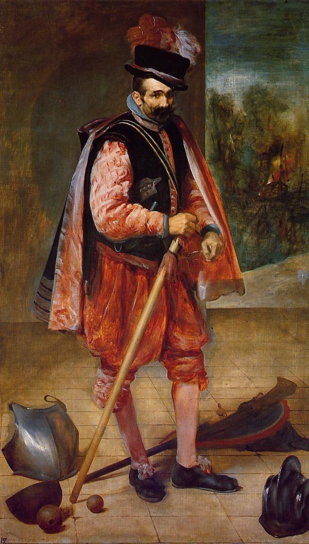 VELÁZQUEZ, Retrato del bufón llamado don Juan de Austria, 1632-33, Museo del Prado