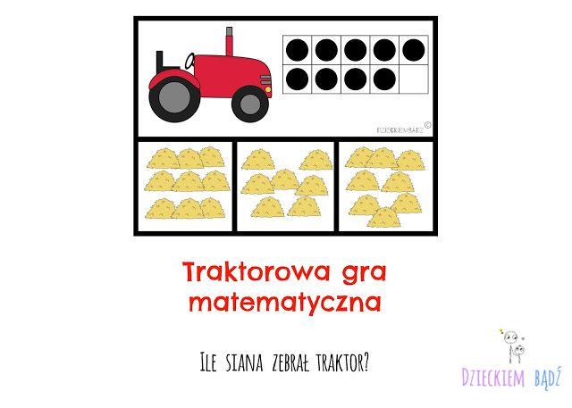 Dzieckiem bądź: Ile siana zebrał traktor? | Gry matematyczne ...