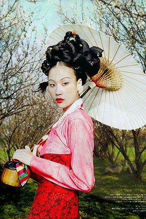 Vogue Korea (May 2011) Photography by Bo Lee, Designs by Hanbok Lynn