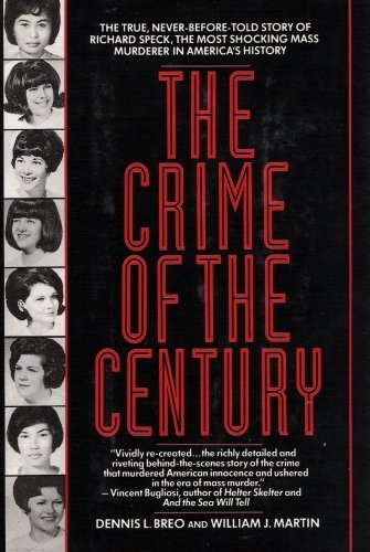 The Crime of The Century -- Richard Speck and The Murder of Eight Student Nurses.  On July14, 1966, Richard Franklin Speck murdered eight student nurses in their quiet Chicago town house. He broke in as the helpless victims slept, bound them one by one, and then stabbed, assaulted, and strangled all eight. By morning only one young nurse had survived. The attack shocked the nation and opened a new chapter in the history of American crime: mass murder.