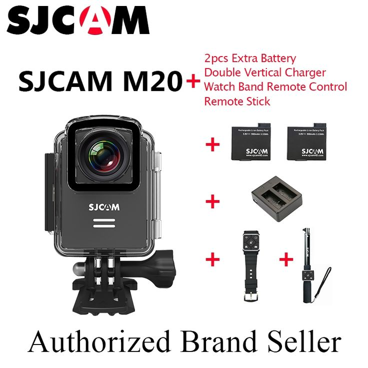 173.73$  Watch more here - http://aiy9h.worlditems.win/all/product.php?id=32800630127 - Original SJCAM M20 Wifi Gyro Mini Helmet  Camera Latest NTK96660 24FPS 2160P HD 16MP Waterproof Sports Sj Cam DVR