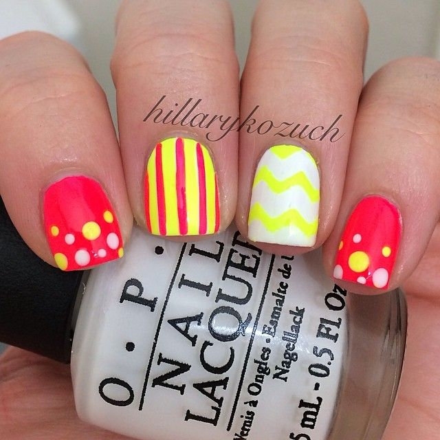Instagram photo by hillarykozuch #nail #nails #nailart