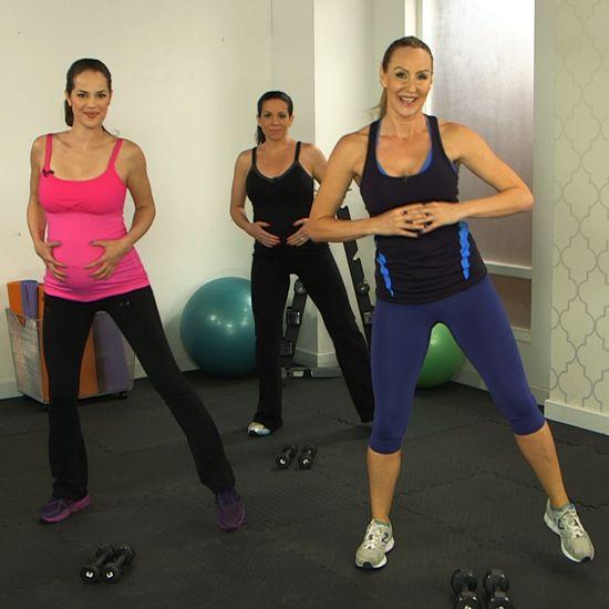 10-Minute Prenatal Workout From Heidi Klum's Trainer #Health-Fitness