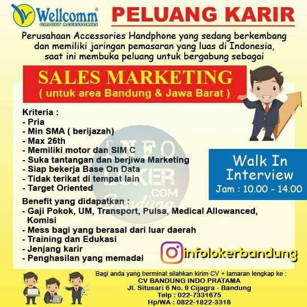 Lowongan Kerja CV. Bandung Indo Pratama ( Walk In Interview ) Oktober 2017