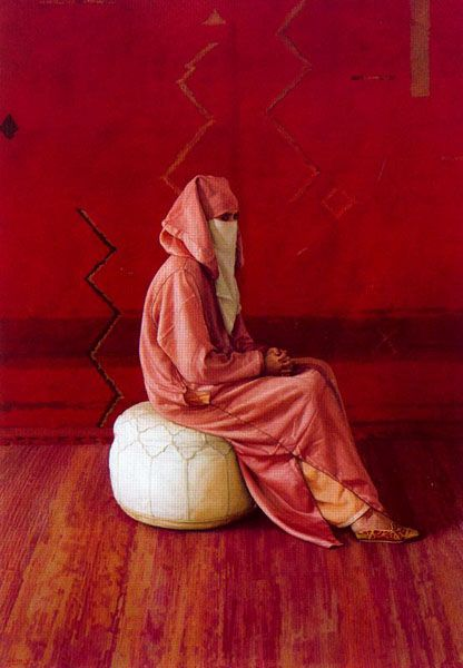 "Tangier by Claudio Bravo. On a visit to Tangier in 1972, Bravo fell in love with Morocco. He said he was ""fascinated by the composition of things in the country,"" and was ""mesmerized by the use of color in every day life."