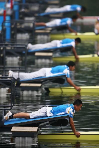 rowing | Rowing 101: Understanding Olympic rowing - the starting line.