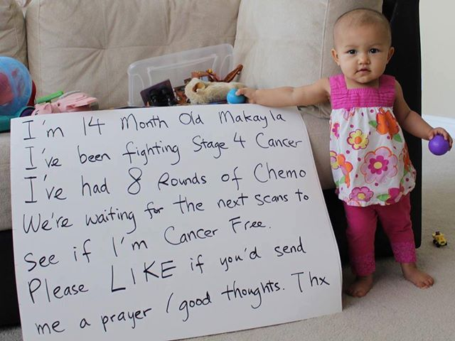 How can chemo help her?  She may need a bone marrow soon!  Are parents in the know???