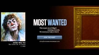 DiegoVoci™  $30,000.00 #REWARD OFFERED!  An Antonio Diego Voci Masterwork was stolen from a residence storage in Otterbach Germany. We need your help to locate and return this Oil on Canvas Painting by the International Artist Diego. Watch Video: https://youtu.be/T3ODYMxxBdc