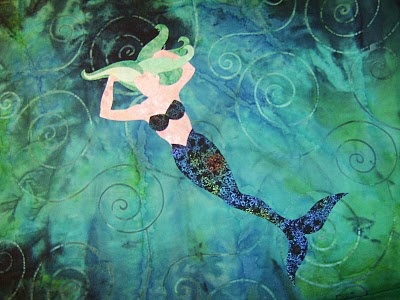 129 best Mermaid quilts! images on Pinterest | Mermaid quilt ... : mermaid quilts - Adamdwight.com