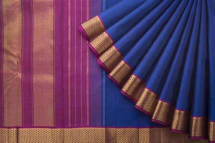 Hayagrivas Handwoven Kanjivaram Silk Sari 1021881