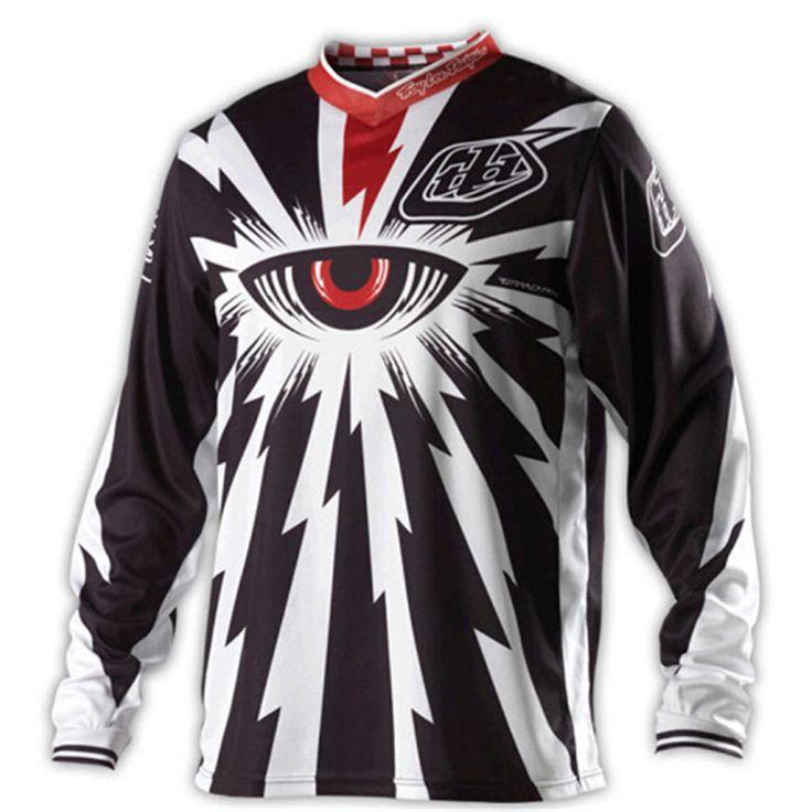2016 NEW TLD Troy Lee Designs shipping New style BMX T-shirt motocross T shirt Downhill MX ATV MTB Moto Tshirt