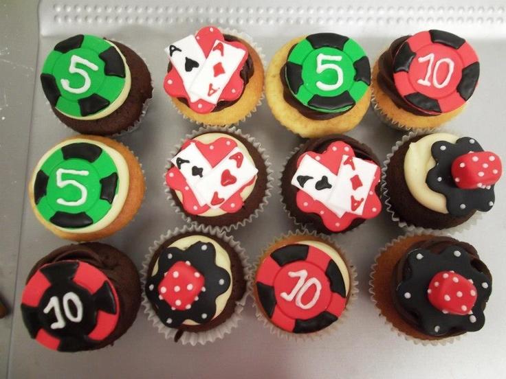 Cupcakes personalizados para ocasiones especiales #Poker #Casino #Apuestas