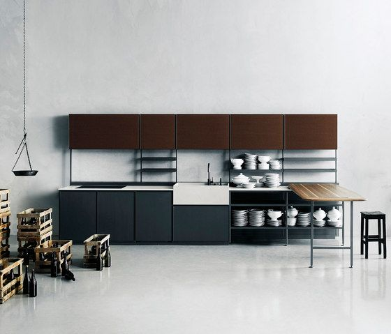 Patricia urquiola s salinas kitchen system for boffi hides wires and - 646 Best Images About Kitchen On Pinterest