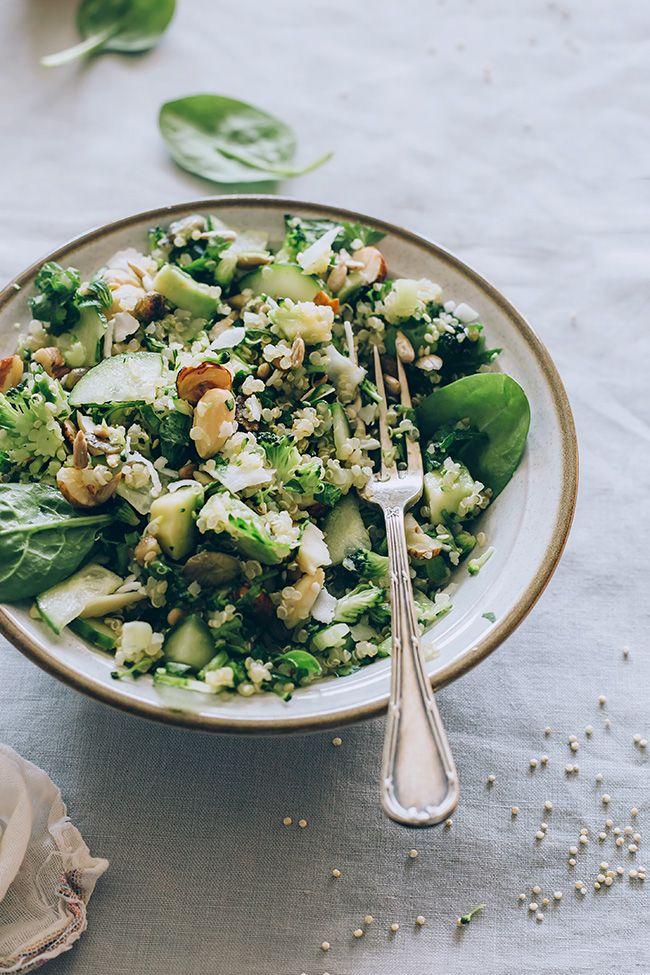 Quinoa Salad for Spring Detox