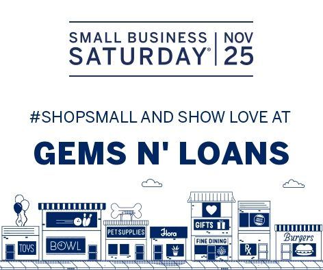 Tomorrow is #ShopSmallSaturday. Don't forget to show your support for your community and #ShopSmall with us all day! It's a holiday shopping tradition that celebrates small businesses like ours. You'll love our service, selection and prices.