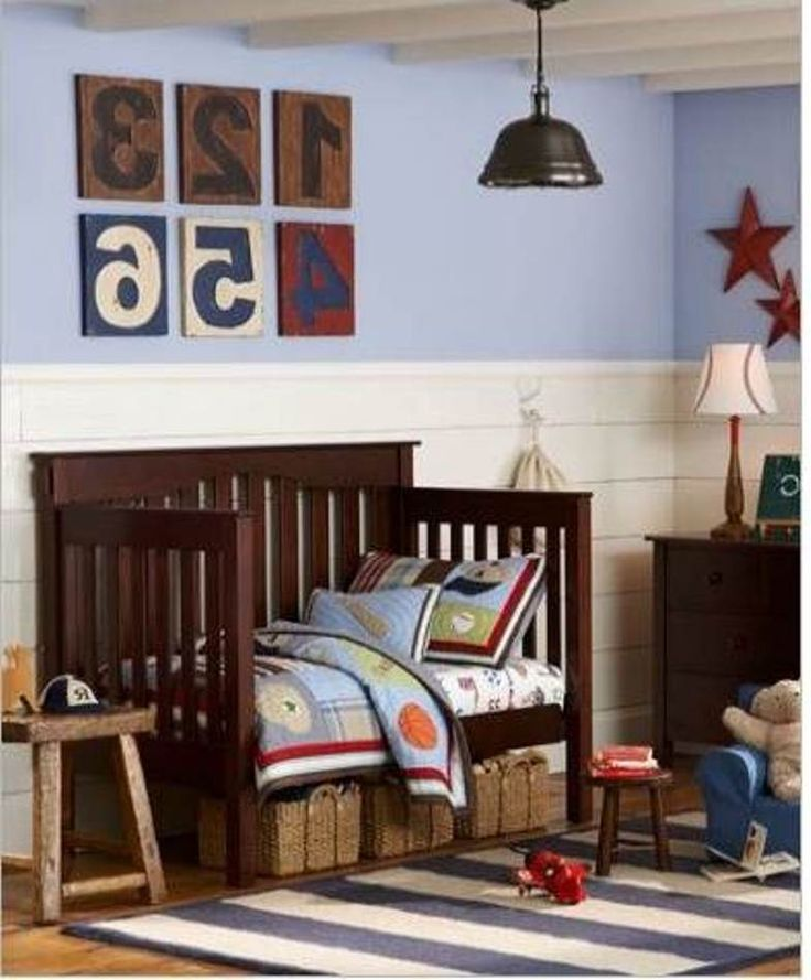 Sport Toddler Boy Bedroom Ideas