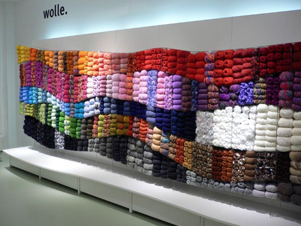 Eye Catching Yarn Display