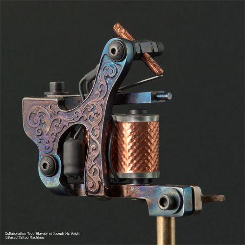 Fused tattoo machines collaboration Todd Hlavaty - Joseph Mcveigh