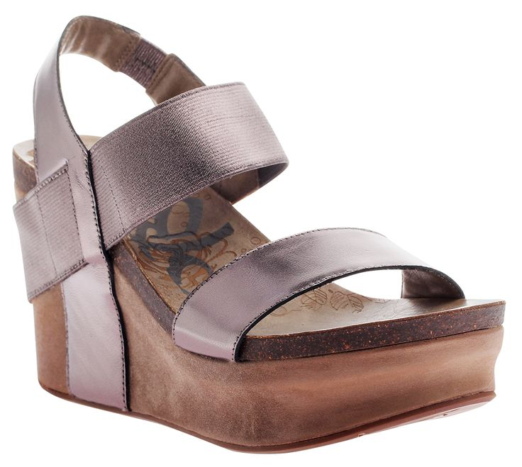 OTBT 'Bushnell' Thick strapped platform with just enough stretch in that  slingback to keep you comfortable no matter were your day may take you.
