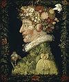 Giuseppe Arcimboldo - Wikipédia  le printemps