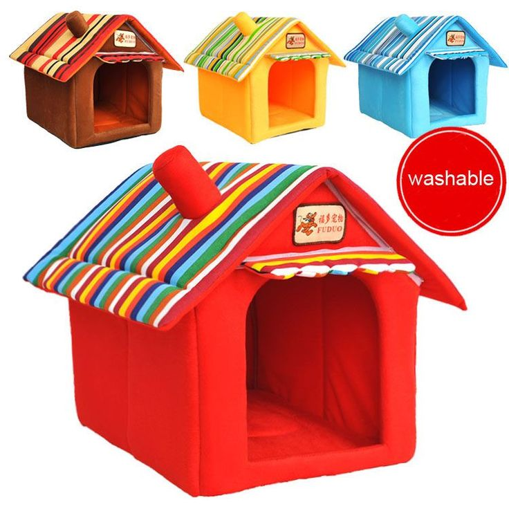 Like and Share if you want this  Washable Dog or Cat House -  Cute Indoor House for Your Lovely Pet     Tag a friend who would love this!     FREE Shipping Worldwide     Get it here ---> http://sheebapets.com/four-seasons-washable-samll-pet-bed-dog-cat-tent-house-kennels-for-small-dog-soft-strip-dog-puppy-bed-teddy-indoor-house-bed/