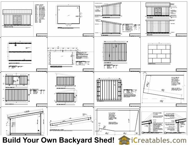 Shed Plans - 12x16 lean to shed plans example Now You Can Build ANY Shed In A Weekend Even If You've Zero Woodworking Experience!