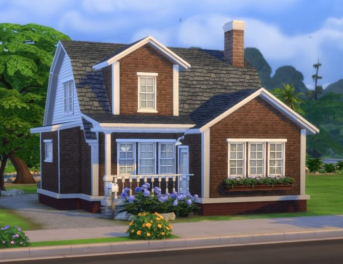 Ferguson house by plasticbox at Mod The Sims via Sims 4 Updates