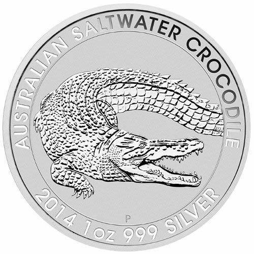 Buy Saltwater Crocodile Silver Coins | Golden Eagle Coins