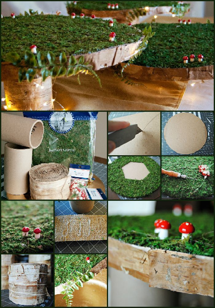 Step By Step DIY Baby Shower Woodland Animals / Fairy