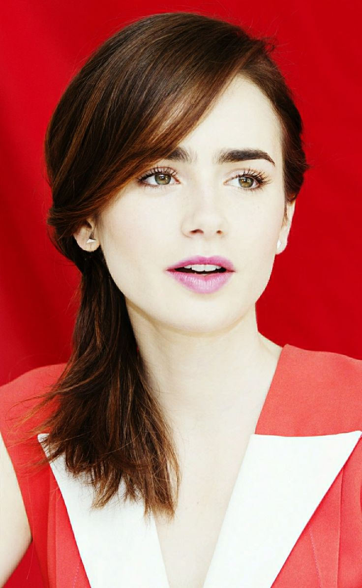 From lily collins hairstyles 2017 best haircuts and hair colors - Lily Collins