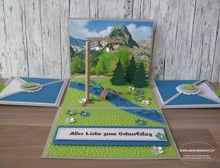 Adlerflug Geschenkbox Explosionsbox Überraschungsbox