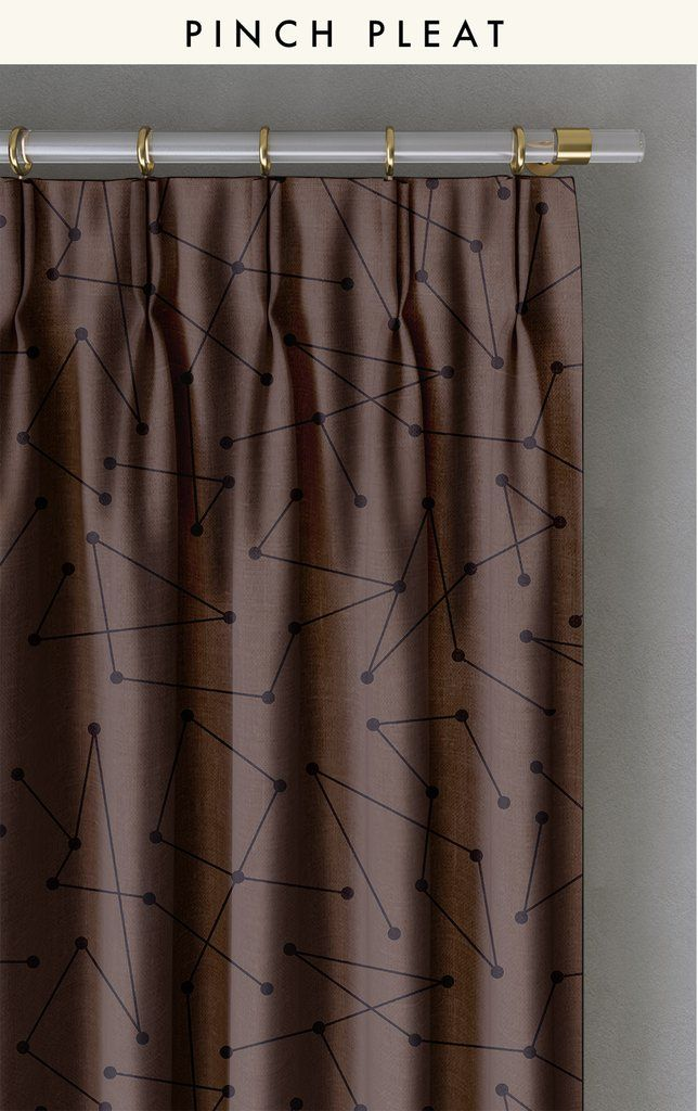 CURTAIN : DOT TO DOT©️️️️️️️️️️️️️️️️️️️️️️️️️️️️️ // CHOCOLATE - drop it MODERN - Modern and contemporary interior designed curtains for the studio and home. | #curtains #InteriorDesign #HomeDecor #bedroom #bathroom #kitchen #LivingRoom #designer #luxury #traditional #FarmHouse #MidCenturyModern